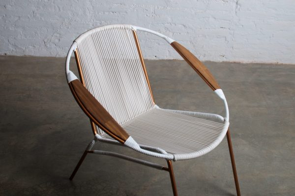 Solido White Chair