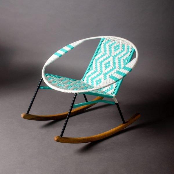 Tucurinca Aquamarine Rocking Chair