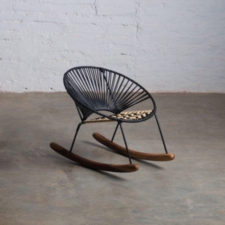 Tucurinquita Mini Rocking Chair Black