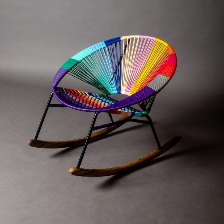 Tucurinca Tres Colorinche Rocking Chair